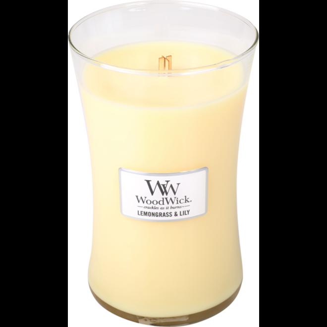 Lemongrass & Lily Large Candle
