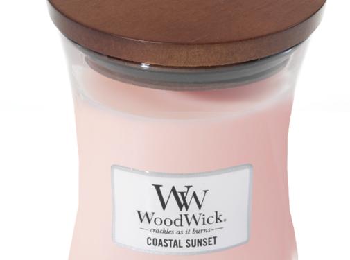 Woodwick Coastal Sunset Medium Candle