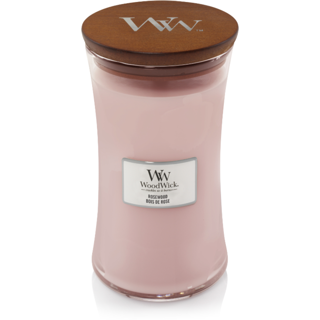 Rosewood candle large