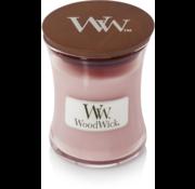 Woodwick  Rosenholz Mini Kerze
