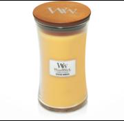 Woodwick Seaside Mimosa candle large