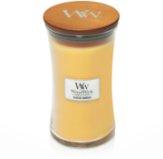 Woodwick Seaside Mimosa kaars groot