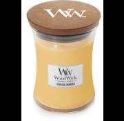 Woodwick Seaside Mimosa Medium kaars