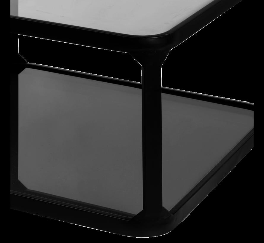 Table basse Roma noire 66 cm