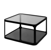 Riverdale Table basse Roma noire 66 cm