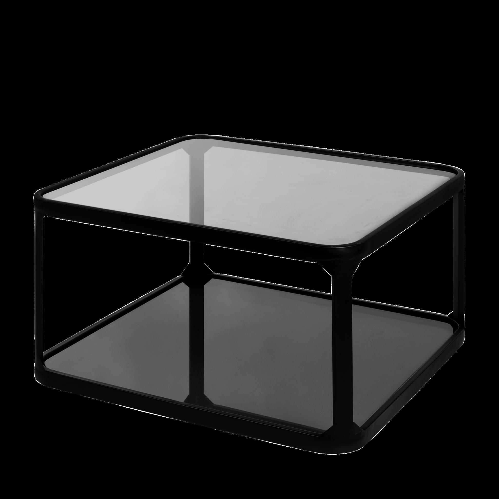 Salontafel Roma zwart 66cm