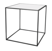 Riverdale Amaro black side table 60 cm