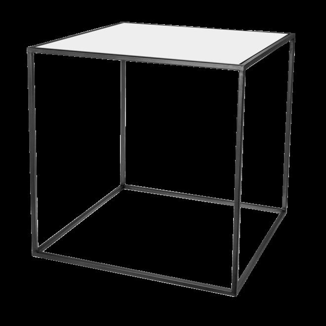 Amaro table d'appoint noir 60 cm