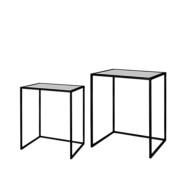 Riverdale Amaro black side table set