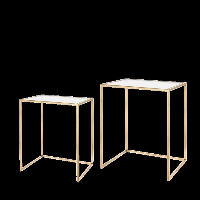 Amaro Gold Beistelltisch Set