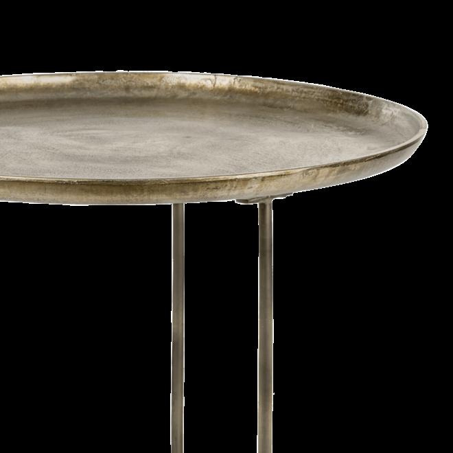Bijzettafel Phyllon brons 75cm