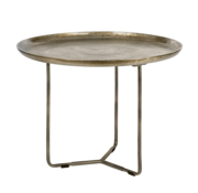 Riverdale Side table Phyllon bronze 75 cm