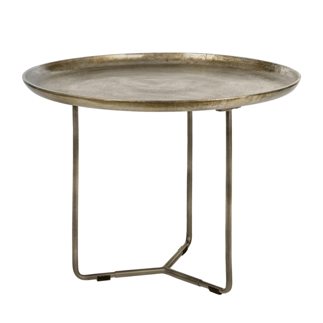Table d'appoint Phyllon bronze 75 cm