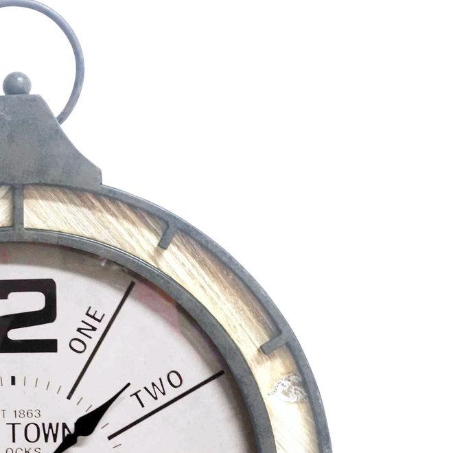 Pocket watch clock 52 cm