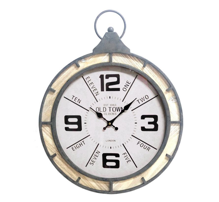 Pocket watch clock 52cm