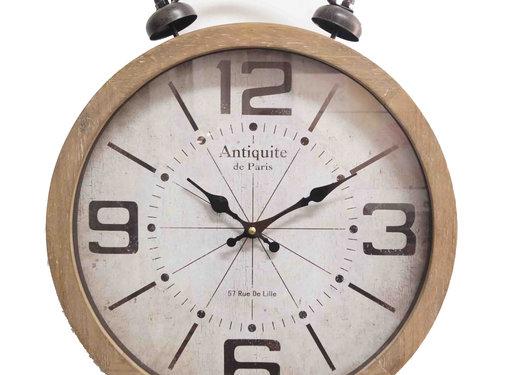 Mansion atmosphere Klok alarm bell 40cm