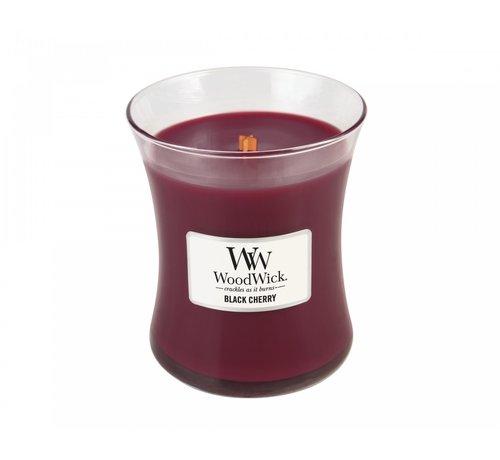 Woodwick Black Cherry Medium Kerze