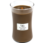 Woodwick Amber & Incense candle large