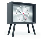 Newgate  Henry mantle clock silver