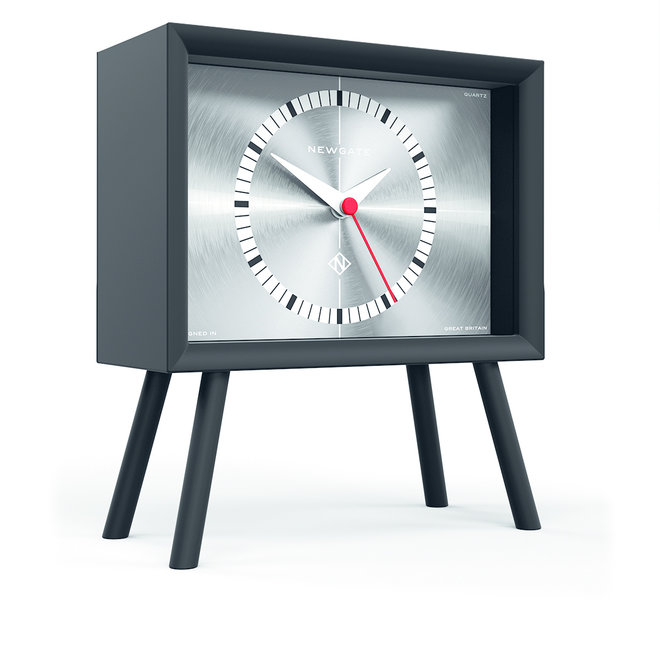 Henry mantle clock silver