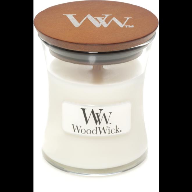White Teak Mini candle