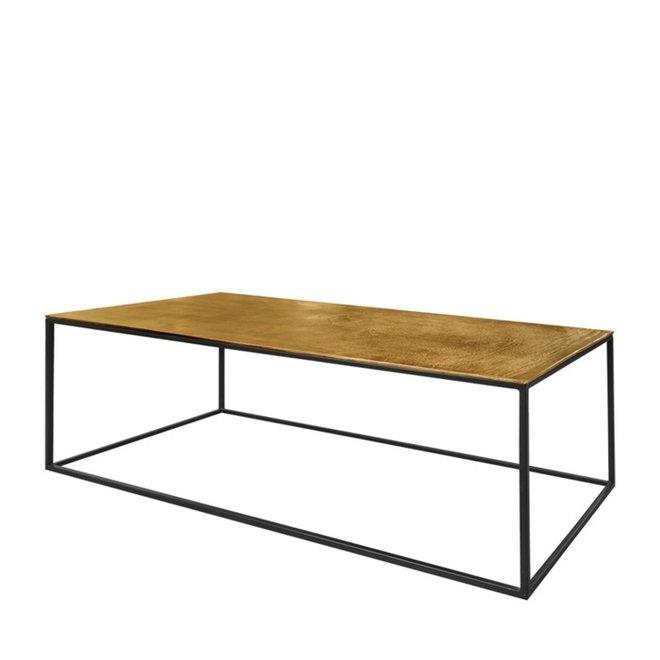 Table basse Mia cuivre 110 cm