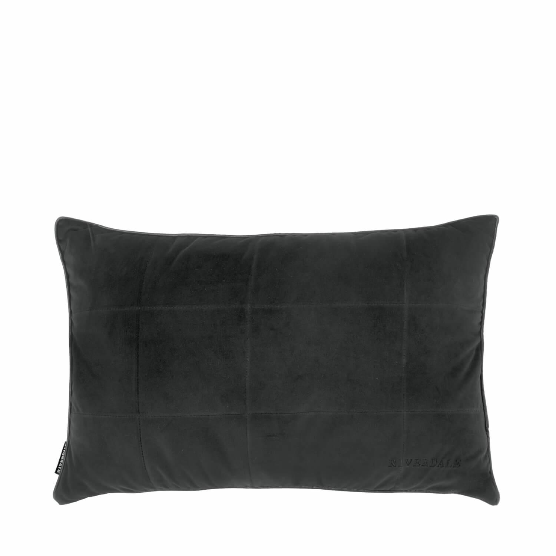 Kussen Hope zwart 40x60cm