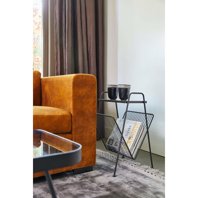 Amaro gold side table 55 cm