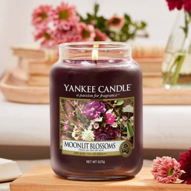 Moonlit Blossoms Large Jar