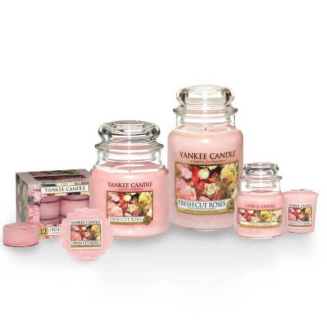 Fresh Cut Roses Medium Jar