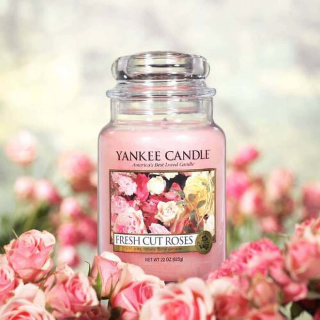 Fresh Cut roses Large Jar