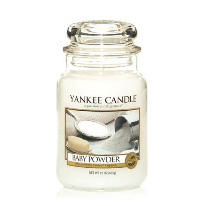Yankee Candle Baby Pulver großes Glas