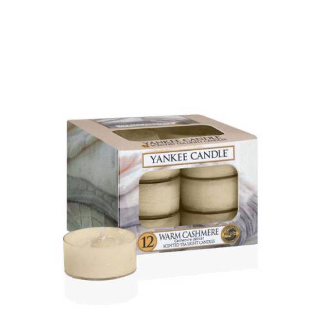 Warm Cashmere waxinelichtjes 12 stuks