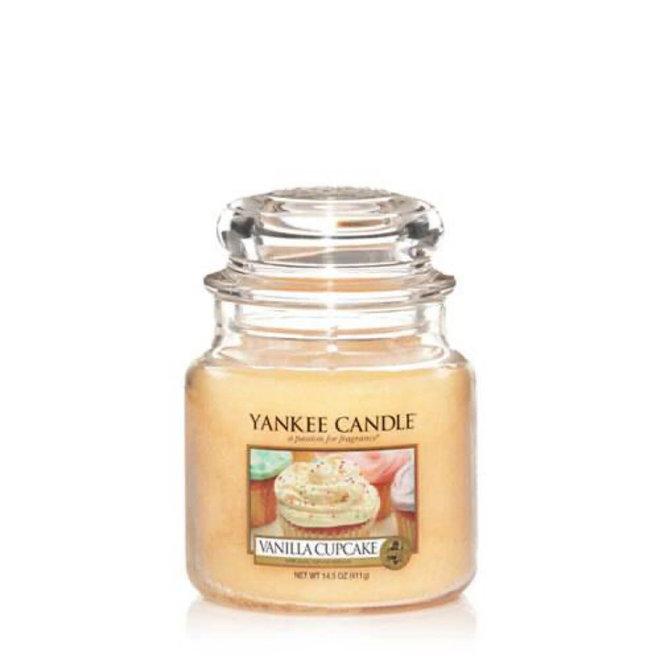 Vanille Cupcake mittlere Glas