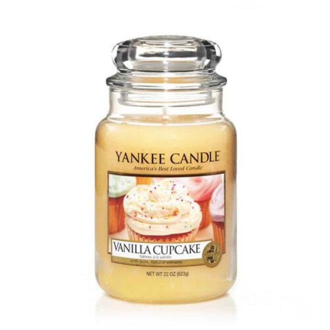Grand pot à cupcake à la vanille