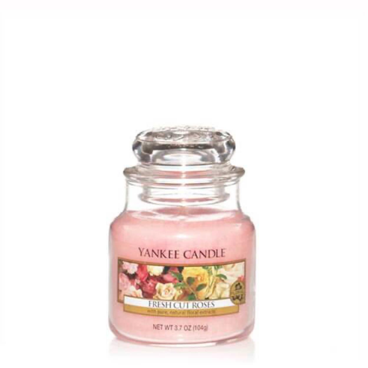 Fresh Cut roses Small Jar