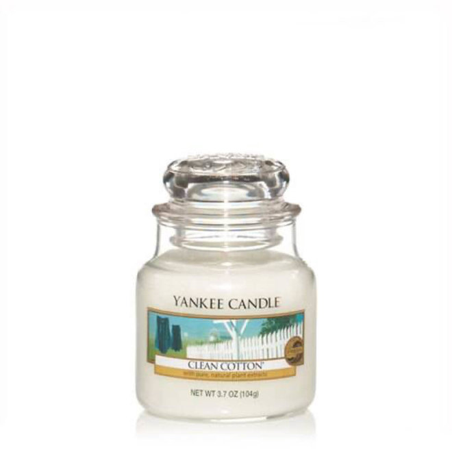 Clean Cotton Small Jar
