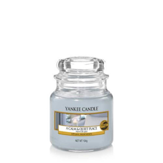 A calm and Quiet Place Small Jar