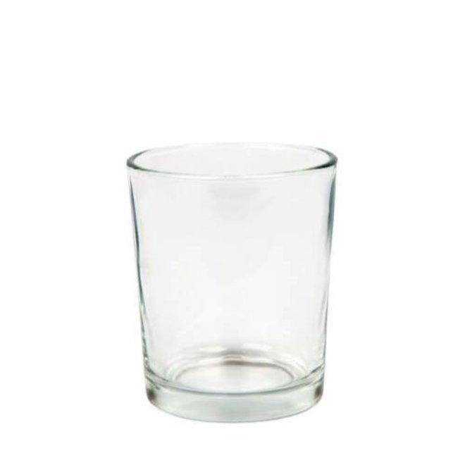 Votive candle holder glass