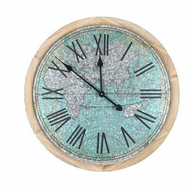 Colored World Wall Clock 60 cm