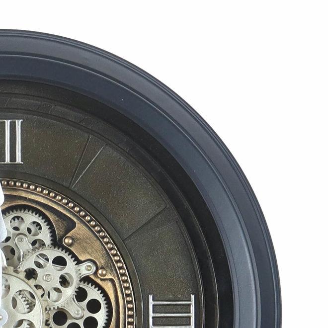 Wandklok Gears grijs 60cm