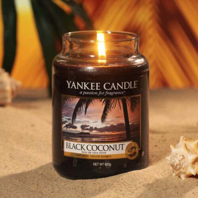 Grand pot de noix de coco noire
