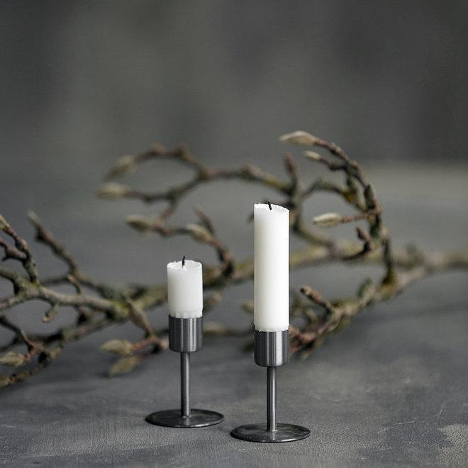 Grundlegende Kerze weiß 24cm