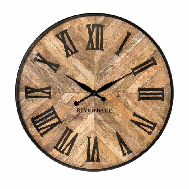 Horloge Nate brown 75cm