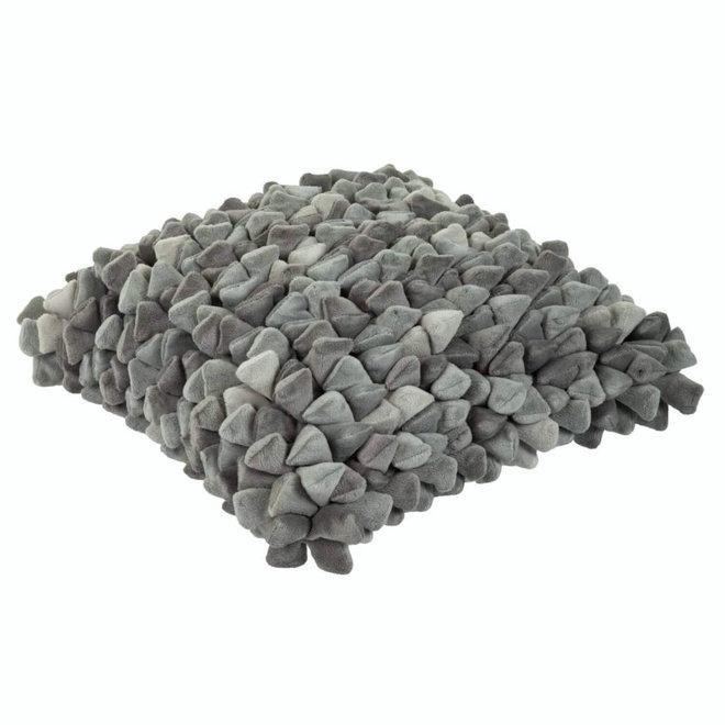 Kussen Pebble grijs