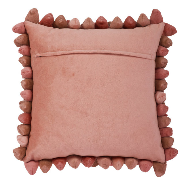 Coussin Pebble terracotta