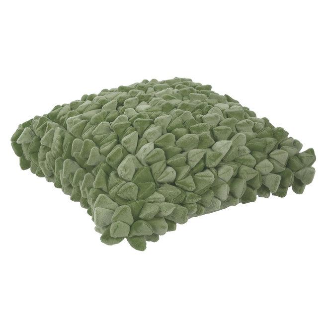 Kussen Pebble olijf groen