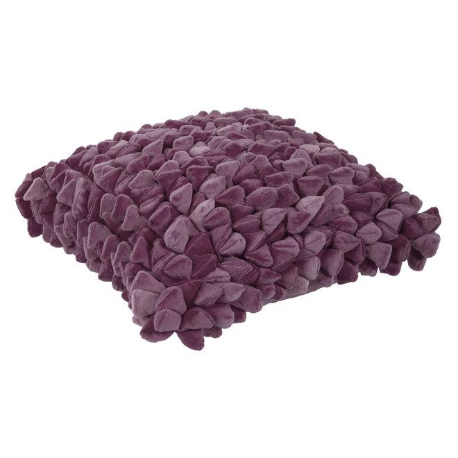 Coussin Pebble Grape violet
