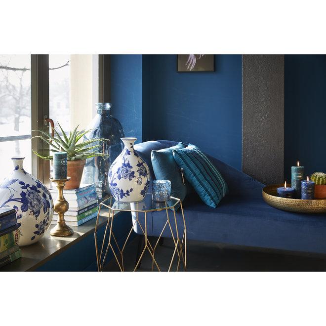 Coussin Chelsea bleu 50x70cm