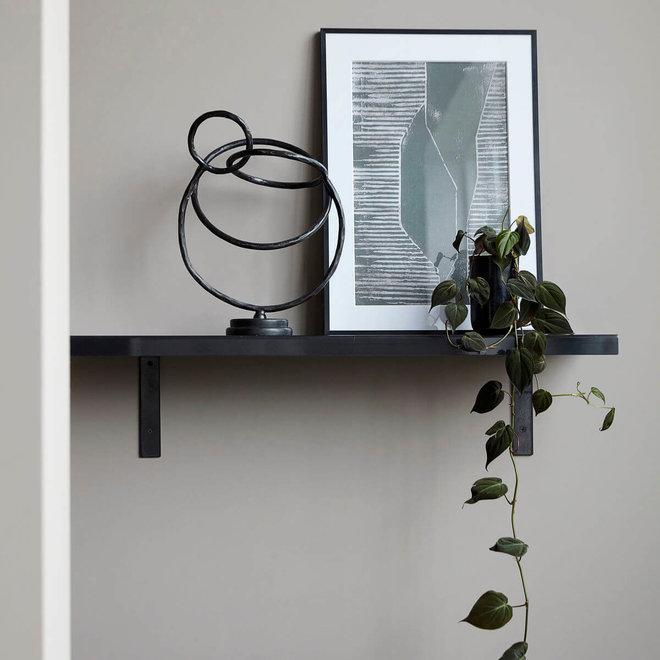 Wandplank RAW zwart